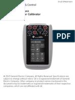 DPI 620 Genii Manual