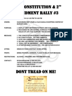The Constitution and 2nd Amendment Rally 3