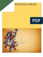 Cultura Azteca Folder