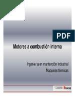 Descripcion de Motor a Combustión Interna