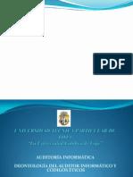 Deontologia Del Auditor Informatico