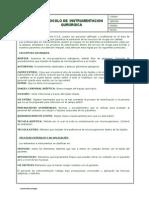 Protocolo de Instrumentacion