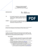 COA Circular 2004-014, Solana Covenant