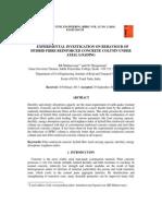 Experimental investigation of hybrid column
