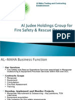 AL Maha Fire Safety & Rescue Operations