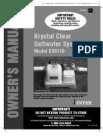 Saltwater System Model CS8110 - USA (131) (10093)-1