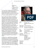 Noam Chomsky - Wikipedia, The Free Encyclopedia