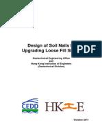 Design of Soilnail