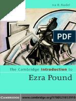 Cambridge Introduction to Ezra Pound