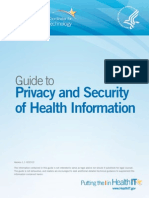 ONC Privacy andsecurity Guide