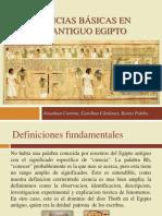 Ciencias Básicas en El Antiguo Egipto