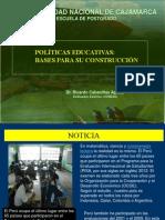 3. Politicas Educ. -Bases Para Su Construcción-01