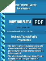 Day 4 - LOTO Awareness