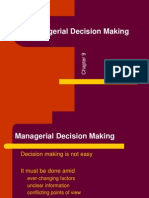 Ch09 Managerial Decision Making