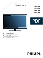 "Philips 32"" HDTV Manual"