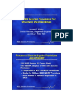 AISC Seismic Provisions for Structural Steel Building