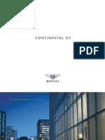 Bentley Continental GT Brochure