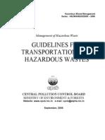 Guidelines ForTransportation of HW