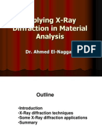 Applying X-Ray Diffraction in Material Analys