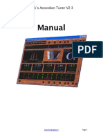 Accordion Tuning Manual for Software app