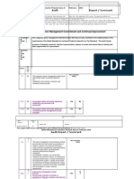 BRC CP3 Checklist