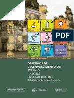 Objetivos de Desenvolvimento Do Milênio - Itaborai Linha-Base 2000-2006