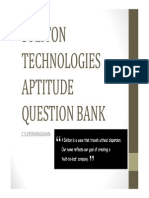 SOLITON TECHNOLOGIES Questions With Answers