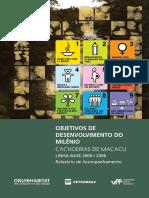 Objetivos de Desenvolvimento Do Milênio - Cachoeiras de Macacu Linha Base 2000-2006