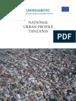 Tanzania-National Urban Profile