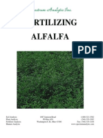 Fertilizing Alfalfa