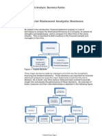 Financial Statement Analysis Business Ratios
