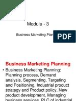 Bm Planning
