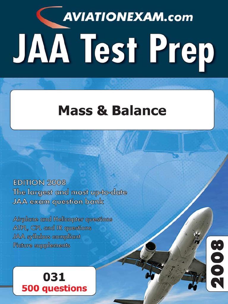 JAA Book Sample | Stall (Fluid Mechanics) | Test (Assessment)