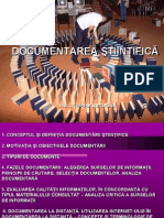 Curs 4 Documentare