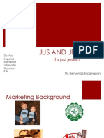 Consumer Behavior Study on Jus and Jerry's