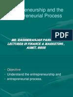 Entrepreneurial & Its Process