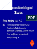Study Design Pharmacoepidemiology