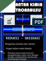 Pengantar Kimia Elektroanalisis 2012