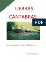 GUERRAS CÁNTABRAS.