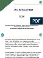 Rasional Kurikulum 2013 Rev