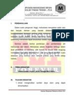 Proposal Kuliah Umum PLTMH Sponsorship