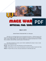 Mage Wars Official FAQ