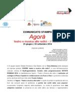 Comunicato Stampa - Terza Edizione - AGORA