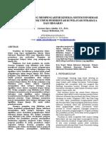 Artikel Penelitian Kinerja Sistem Informasi