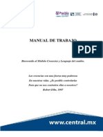 Manual de Trabajo Creencias