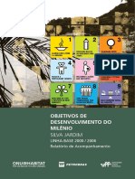 Objetivos de Desenvolvimento Do Milenio. Municipio de Silva Jardim. Relatorio de Acompanhamento, Linha Base 2000-2006
