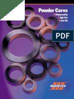 MAGNETICS Powder Core Catalog