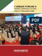 World Urban Forum 4 Report