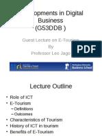 E-Tourism Lecture 120310