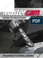 MastercamX7 Intro to Multiaxis bai 2